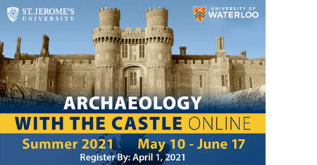 BISC Ad for Archaeology with the Castle Online