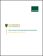 Cover of the Academic Plan 2015-2020