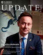 SJU Update 2019 Magazine front cover