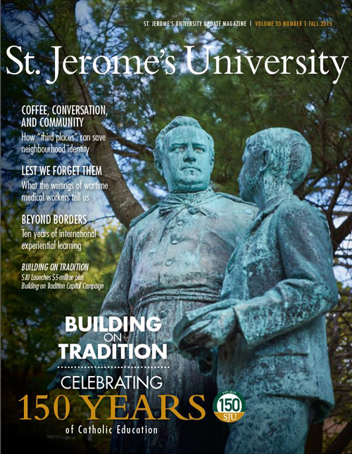 Front cover of St Jeromes University Magazine