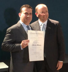 Dr. Michele Mosca receives Knighthood