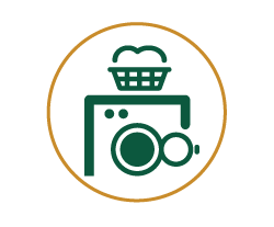 Icon of a washing machine
