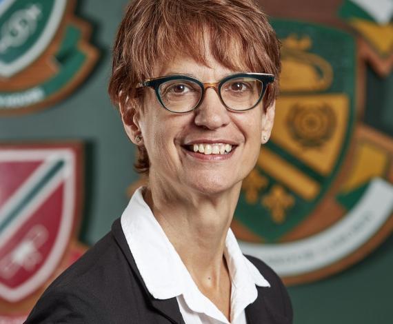 Cristina Vanin Vice President Academic and Dean
