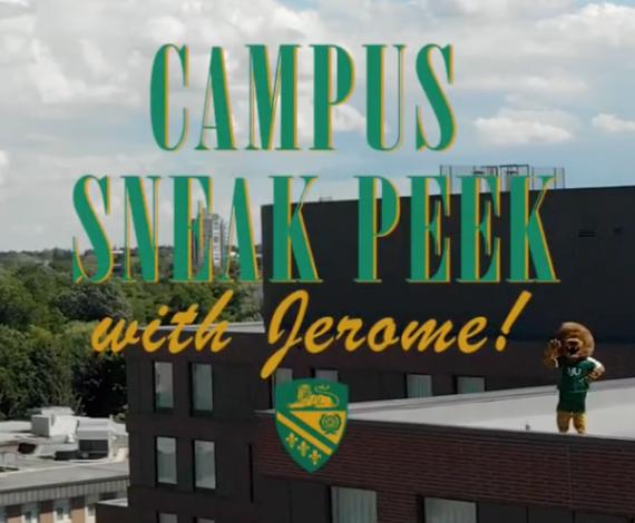 Campus Sneak Peek with Jerome