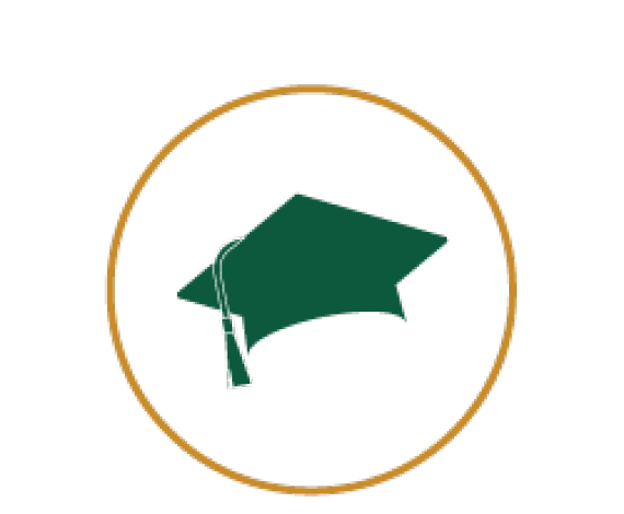 Icon for Square academic caps