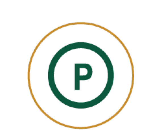 Icon of a Parking P