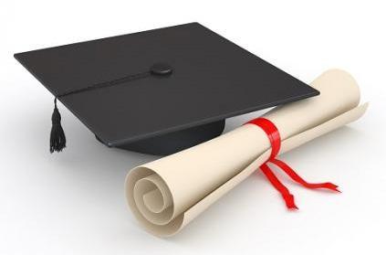 Grad Hat w scroll